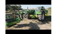 Sicma F3 for the Mechanized Harvesting of Olives, Almonds and Hanging Fruits - Video