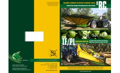 Sicma RC / TF/PL Tractor-Mounted Harvester - Brochure