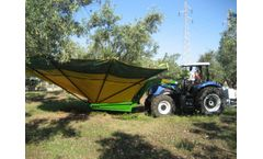 Sicma - Model RC - Harvester for olives, nuts, cherries, plums with trunk shaker (equipped with or without umbrella)