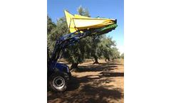 Sicma - Model TF/PL - Harvester for olives, nuts, cherries, plums with trunk shaker (equipped with or without umbrella)