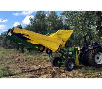 Harvester for olives, nuts, cherries, plums with trunk shaker (equipped with or without umbrella)-3