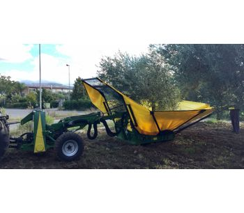 Harvester for olives, nuts, cherries, plums with trunk shaker (equipped with or without umbrella)-4