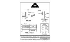 Silt-Saver - Model BSRF Priority 1 - Green Band Heavy Duty Silt Fence Brochure