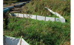 Silt-Saver - Model BSRF Priority 1 - Green Band Heavy Duty Silt Fence