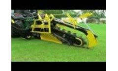 AFT 100 Cable / Pipe laying trencher Video