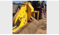 Wizz Wheel - Model 75 - Tractor Mounted Trencher