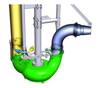 Agriprom - Model AG2 - Long Shaft Manure Pump