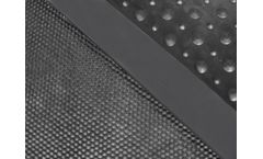 Agriprom - Model 10/10 - Solid Comfortable Rubbermat with Elastic Studs