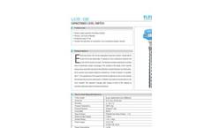 Capacitance Level Switch : LCS-02