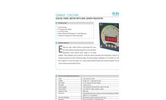 Digital Panel Meter with Bargraph Indicator : DIAM-151KK