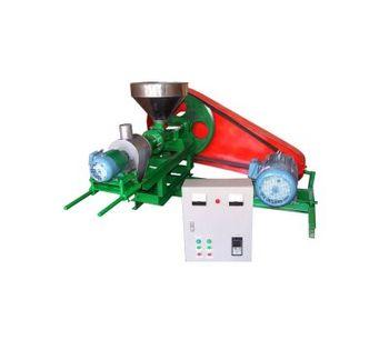 Floating-Feed Pellet Machine