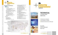 Zia Engineering & Environmental Consultants Company Profile Brochure