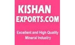 Kishan Exports - Natural Barytes Powder