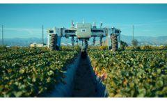 AGROBOT Robotic Strawberry Harvester - Video