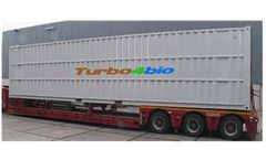 Turbo4bio - Self Contained and Transportable Containerized System