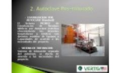 VERTISA Medical Waste Technology Hospital Hazardous Shredders and Sterilizers Video