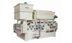 Haibar - Model HTBH - Standard Type Belt Filter Press Combined Rotary Drum Thickener
