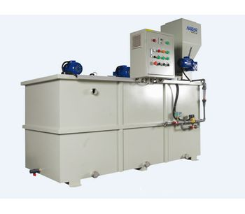 Haibar - Model HPL2 Series - Two Tank Continuous Polymer Preparation System