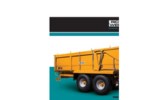 Spinning Disc Manure Spreaders Brochure