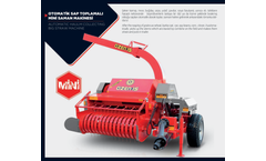 ÖZEN - Automatic Haulm Collecting Big Straw Machine Brochure