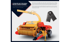 ÖZEN - Automatic Stem Collecting Bladed Straw Machine Brochure
