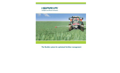 Isaria - Flexible System for Optimised Fertiliser Management Brochur