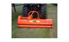 KRM - Model Condor - Versatile Flail Mower