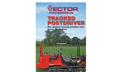 Tracked Post Driver - Brochure