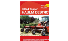 Haulm Destroyer - Brochure