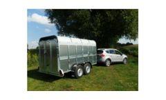 Graham Edwards - Model 5,8 FT - Livestock Trailers