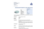 Drizit - Model DPB17MB025BG - Oil Absorbent Drum Top Pads Brochure