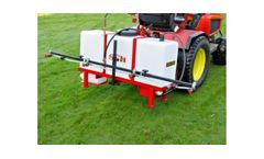 SCH - Model 4MPS/125 - Three Point Linkage Mounted Sprayer 125L