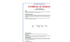 Elemental Microanalysis - Model B2250 - Calcium Carbonate 12% 501-034 - Datasheet