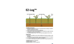 Model EZ-Log - Biodegradable Coir Logs Brochure