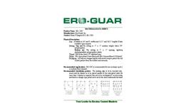 Ero-Guard - Model EG- 2S/C - Extended Term Erosion Blankets Brochure
