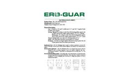 Ero Guard - Model EG-2 S/C (NN) - Extended Term Erosion Blankets Brochure
