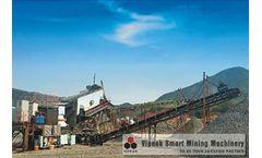 Vipeak - Model VK-2 - 50-300T/H - Portable Medium and Fine Crusher&Screening Plant