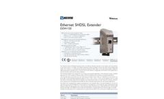 Model DDW-120 - Ethernet SHDSL Extender Brochure