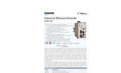 Model DDW-142 - Industrial Ethernet Extender Brochure