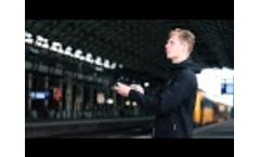 Agrilaser Lite Repels Birds from Train Station Video