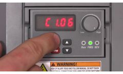 Frequency Converters EFC 3610/5610   Overview and commissioning- Video
