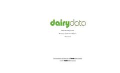 Farmdata - Dairy Data Recording and Managing Software Brochure