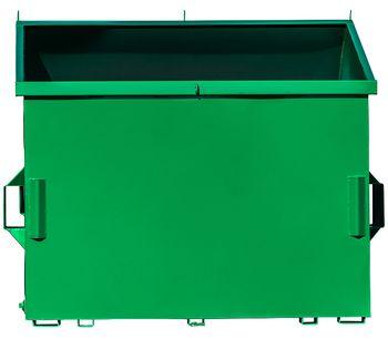 Intersteel - Front Load Slant Top Container