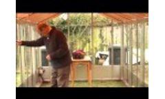 World`s First Domestic Solar Greenhouse - Polysolar  Video