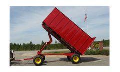 Model 14 ga. - Hydraulic Hauling Wagon / Trailer
