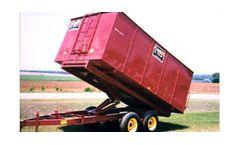 Model VPM-7 - 14 Series - Single Axle Hydraulic Drying Wagon / Trailer