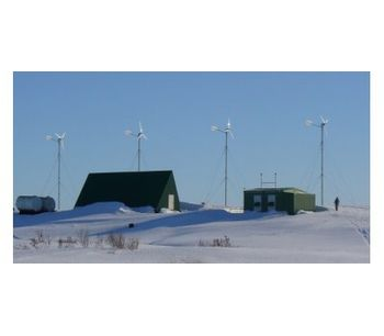 ANTARIS - Model 5.5 kW - Small Wind Turbines