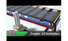Solar energy / Solar photovoltaics / Photovoltaic effect (3D animation)Video