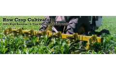 Alloway - Model 2065 - High Residue Row Crop Cultivator