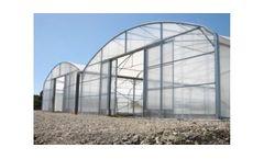 Model MCB ECO+ - Plastic Greenhouse